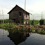 Floating vegetable gardens | Photo taken by Rodney S