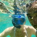 Snorkeling in Vila Franca | Photo taken by Erica T
