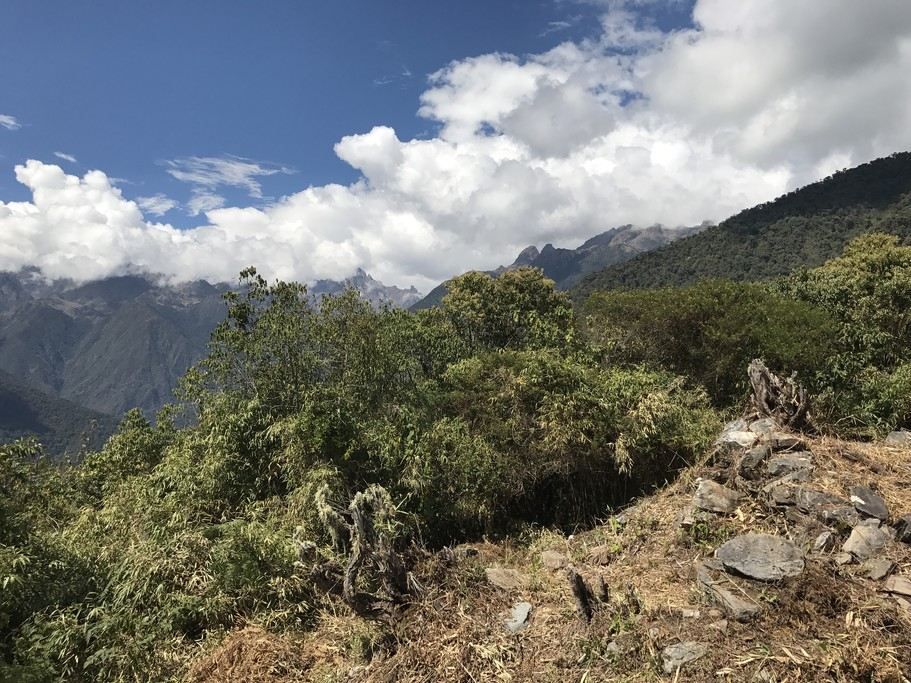 On Salkantay | Photo taken by Janice H