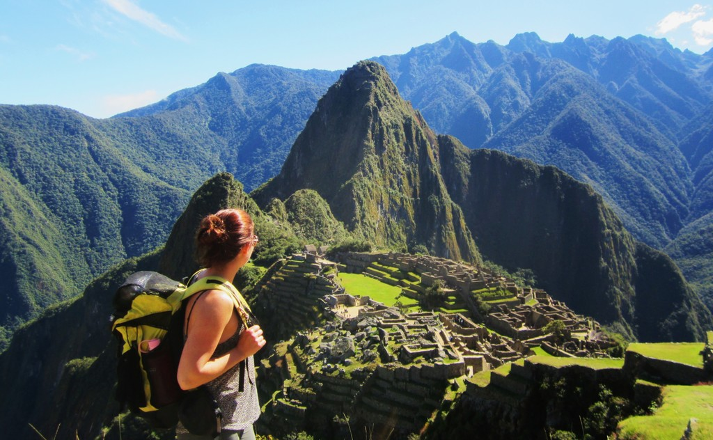 Overlooking Machu Picchu | Photo taken by Jennifer S