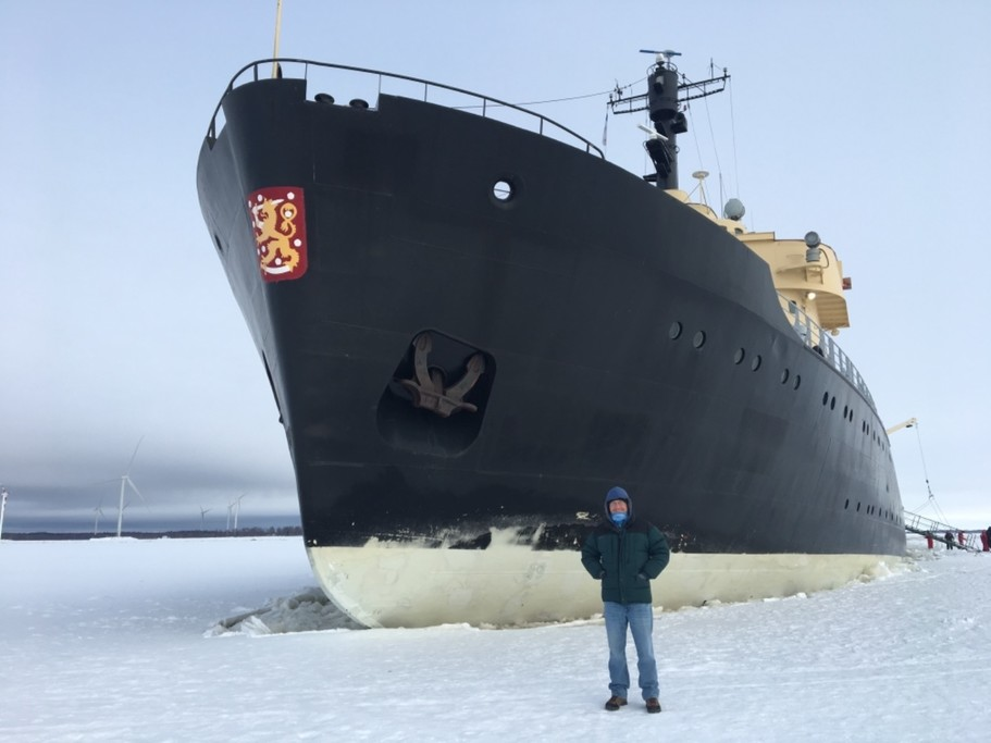 Sampo Icebreaker cruise | Photo taken by Rebecca E