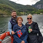 Ferry from Flam to Balestrand | Photo taken by Mark M