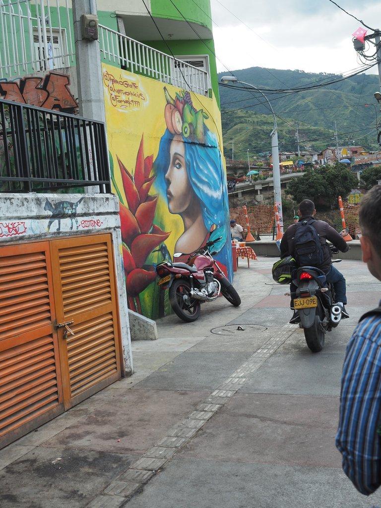 Medellin District 13 | Photo taken by Peter G