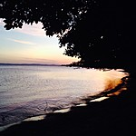 Sunset on Ometepe | Photo taken by Hugh B