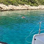 Beautiful calm waters off the boat   Photo taken by Jennifer F