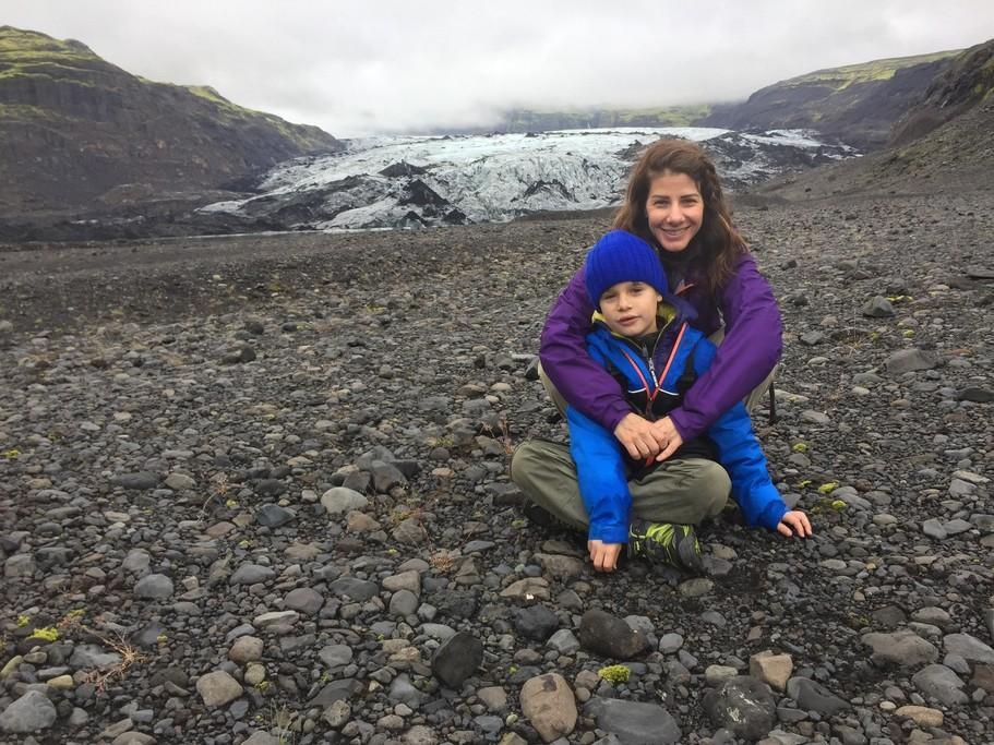Glacier | Photo taken by Anette U