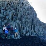 Basalt columns near Vik | Photo taken by Grace Lessing