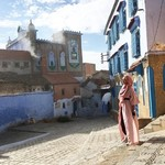 In Chechaouen  | Photo taken by Alif Nadya Inniar R