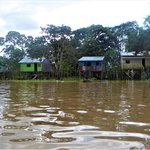 Houses near Leticia | Photo taken by Robert T