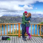 Proposal at Lake Quilotoa | Photo taken by Marsha S