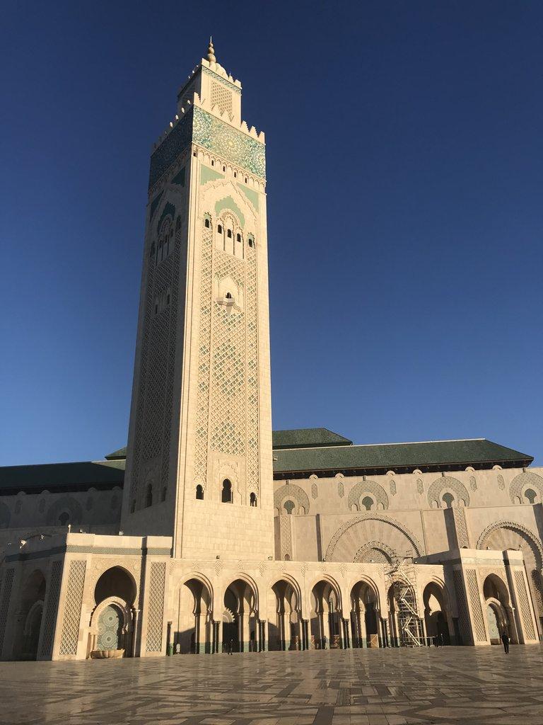 Hassan II Mosque   Photo taken by Chris M