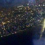 Kathmandu's Tihar lights from the air | Photo taken by Caroline R