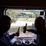 Snacks on Board the train | Photo taken by Mark M