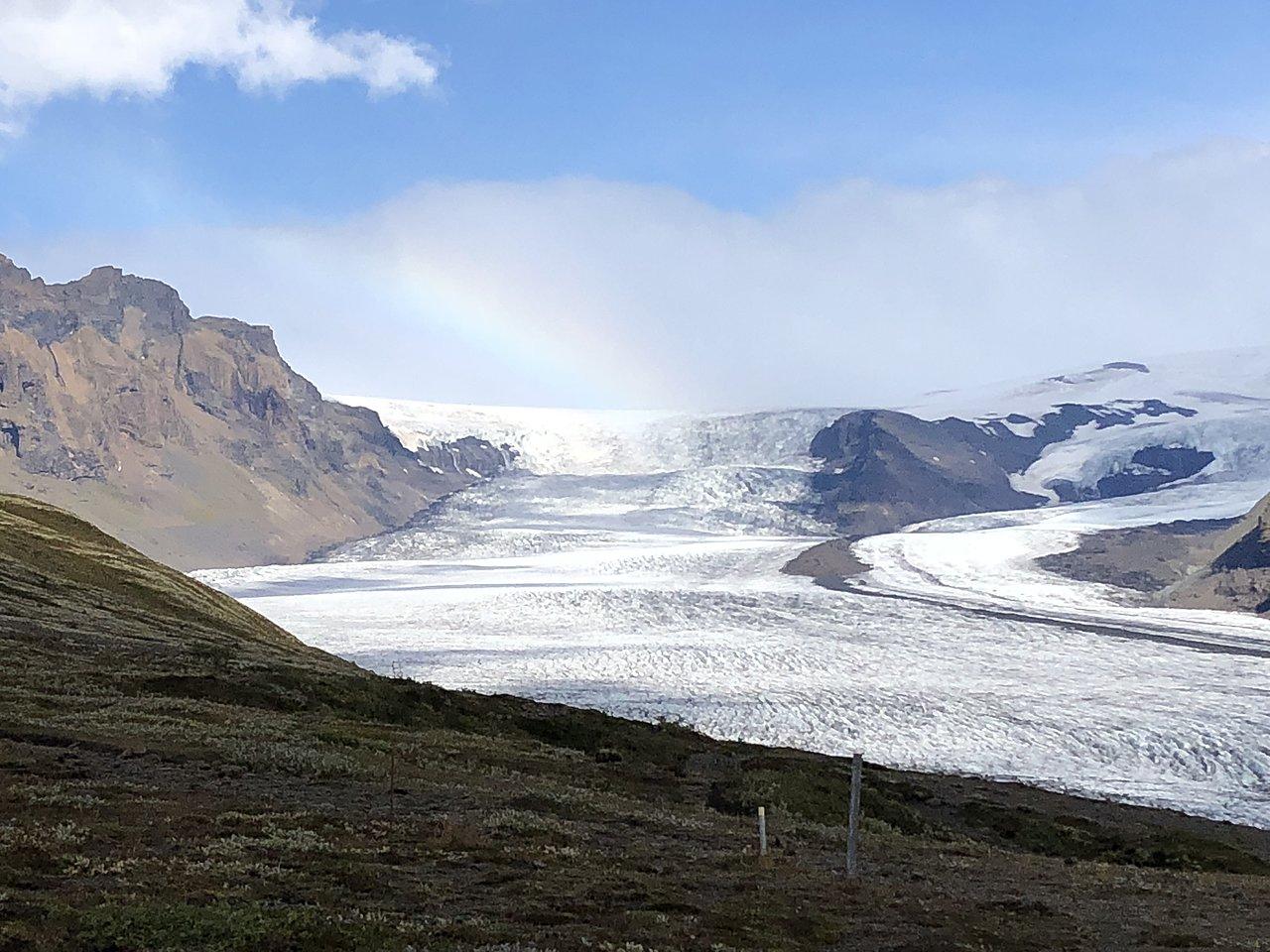 Vatnajokull National Park Glacier | Photo taken by Laura D