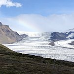 Vatnajokull National Park Glacier | Photo taken by Laura D