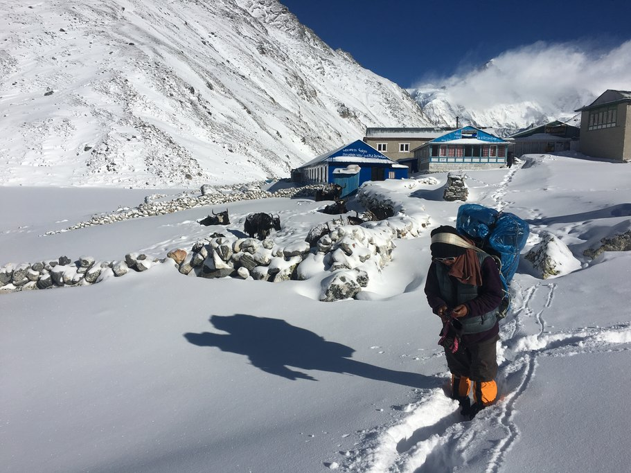 Gokyo after the snow 1 | Photo taken by Tony L