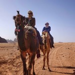 Camel ride/ Wadi Rum | Photo taken by Gerelyn G