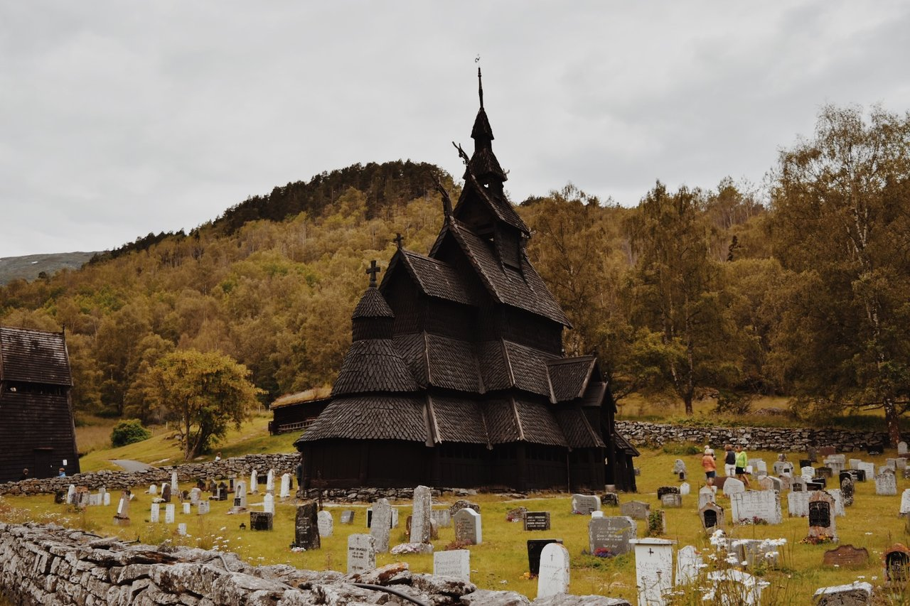 Borgund Stave Church | Photo taken by Michael W