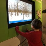 Having fun at the Arktikum museum. | Photo taken by Victoria M