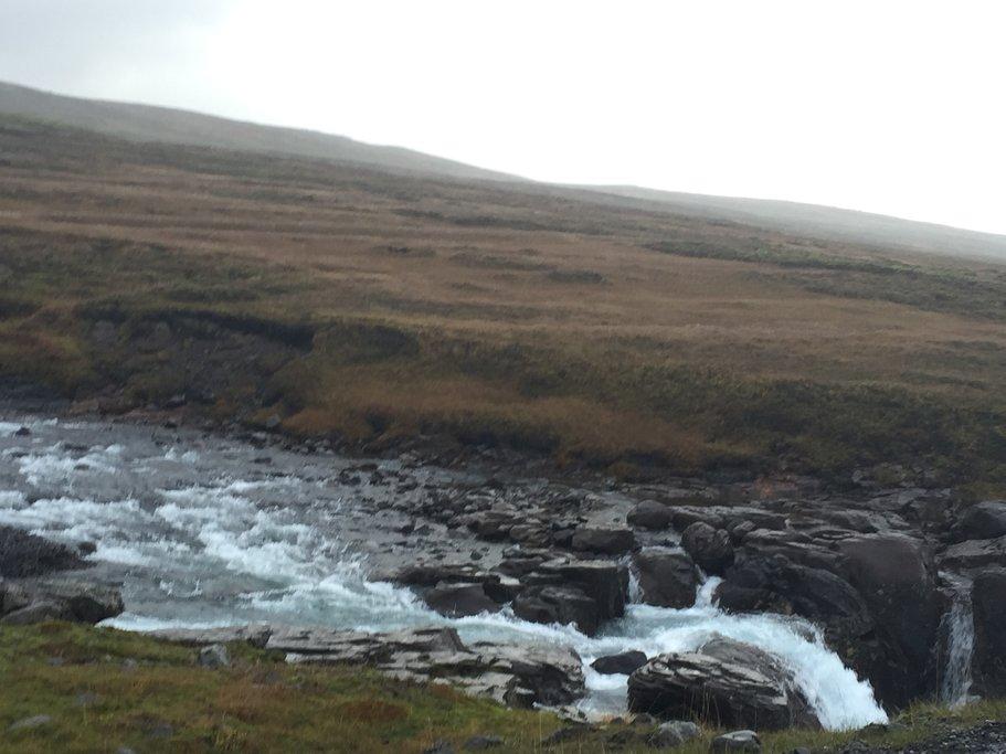 Random waterfall along the drive | Photo taken by Marisa K