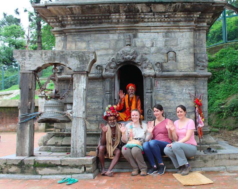 Sadhus of Nepal, Kathmandu | Photo taken by Ana R