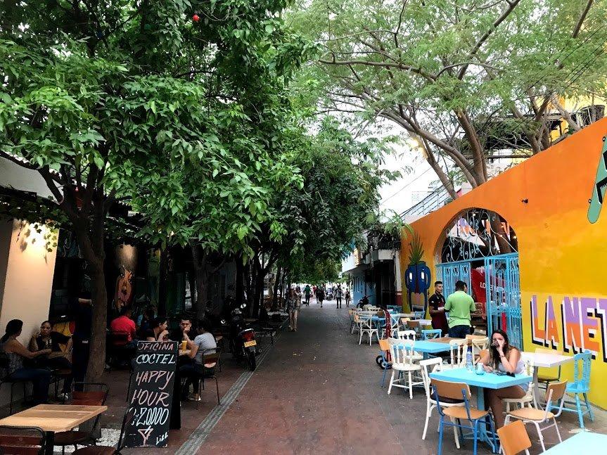 Near Parque de los Novios | Photo taken by Sophie E