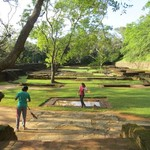 Water gardens at Sigiriya | Photo taken by Barbara A