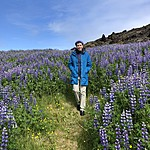 Susan - Lupine fields | Photo taken by Elizabeth R
