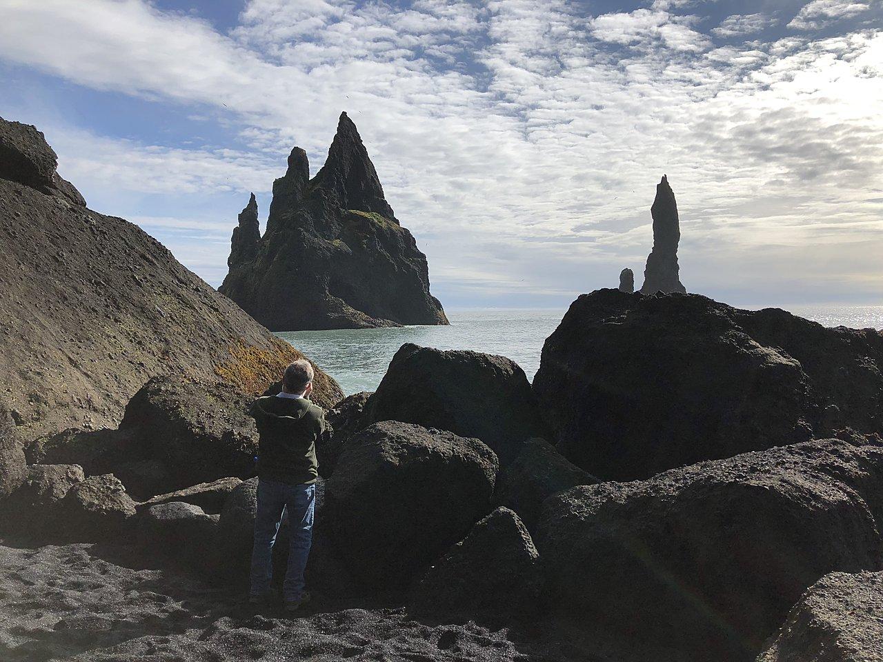 Reynisfjara beach  | Photo taken by Laura D