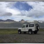 Our transportation - Route 1 near Sveinsstekksfoss | Photo taken by Gail D