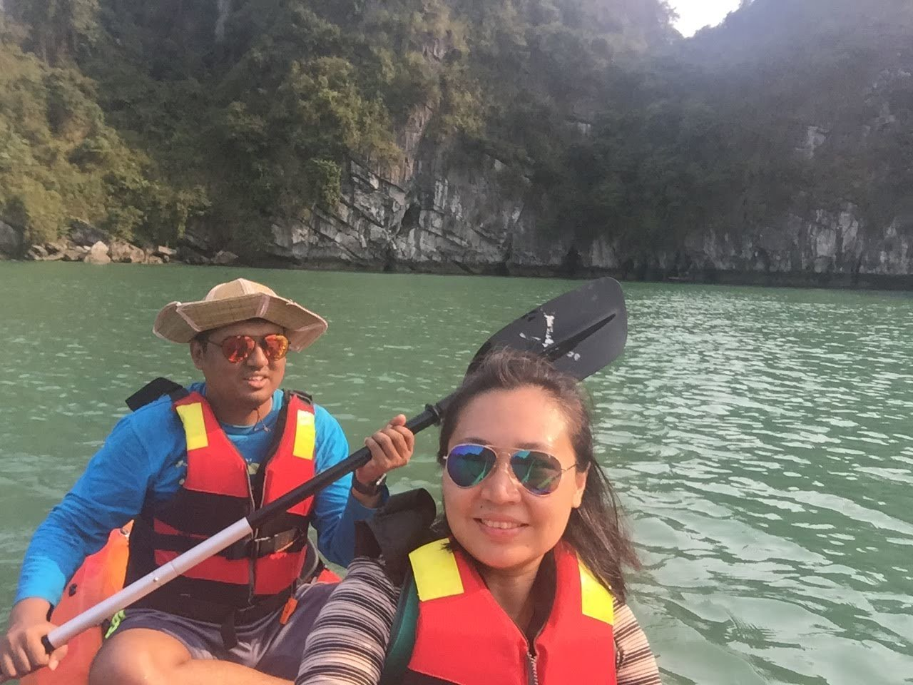 Kayaking   Photo taken by Seng Aung S