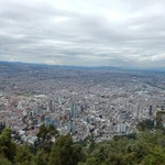 Bogota as seen from Monserrate | Photo taken by Bonnie S