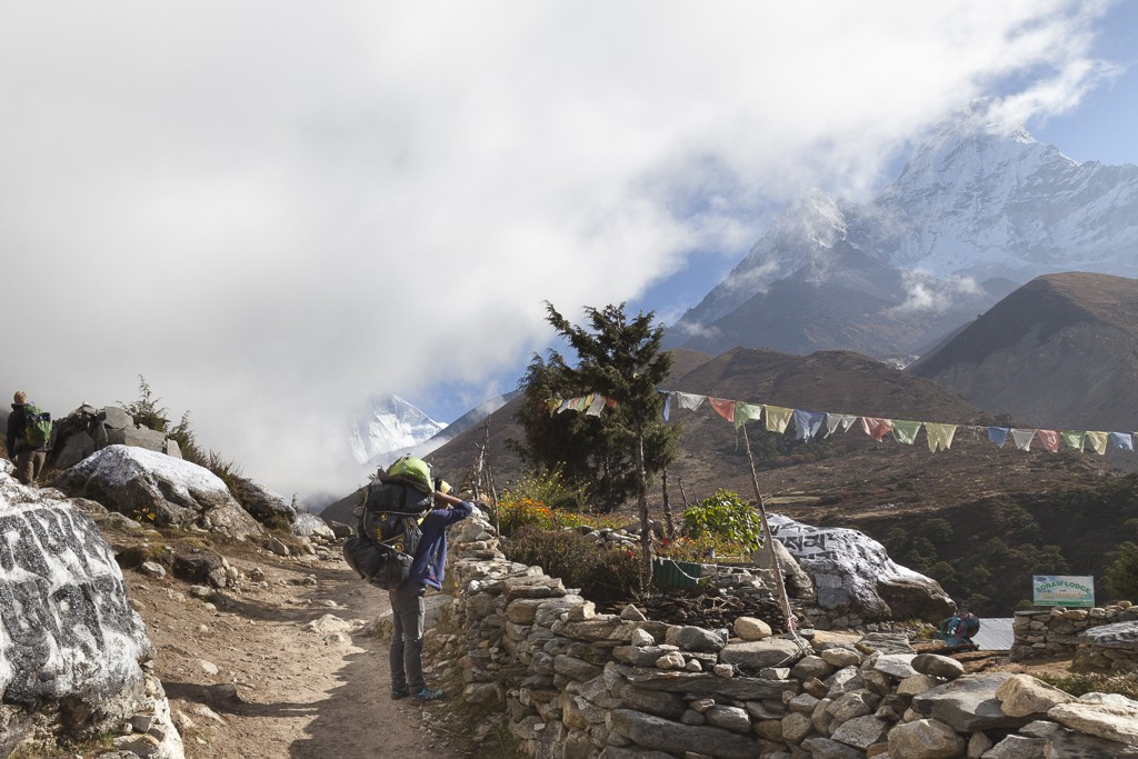 Namche-to-Tengboche | Photo taken by Lidia D