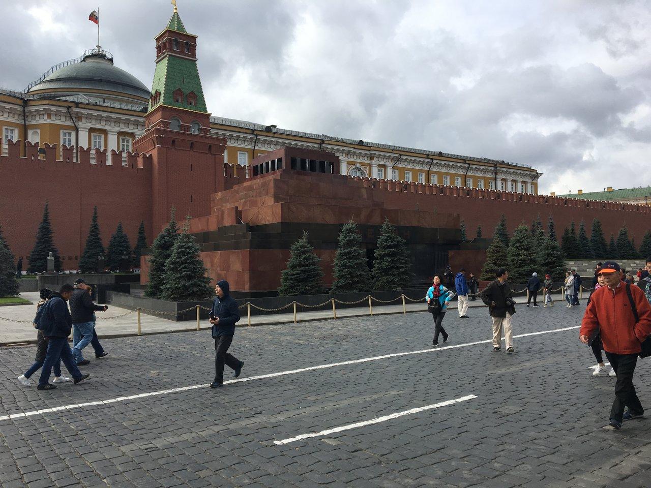Lenin's mausoleum   Photo taken by Diane P