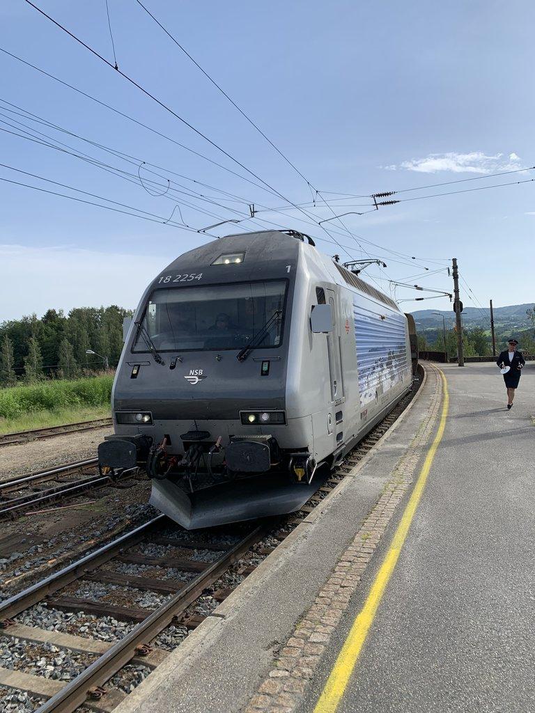 Train to Flåm  | Photo taken by Jessica H