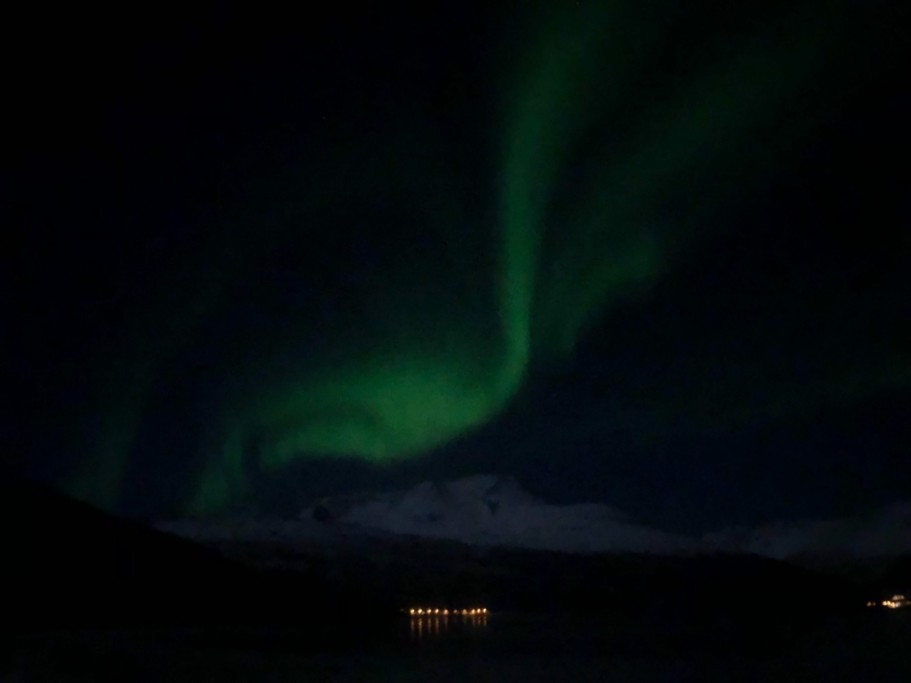 Northern lights  | Photo taken by Rebecca E