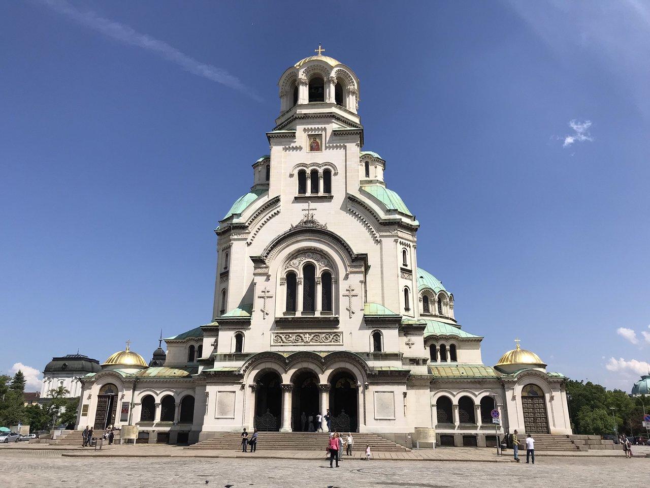 Alexander Nevski Cathedral. | Photo taken by Alison C