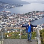 On top of the world in Bergen! | Photo taken by Sally A