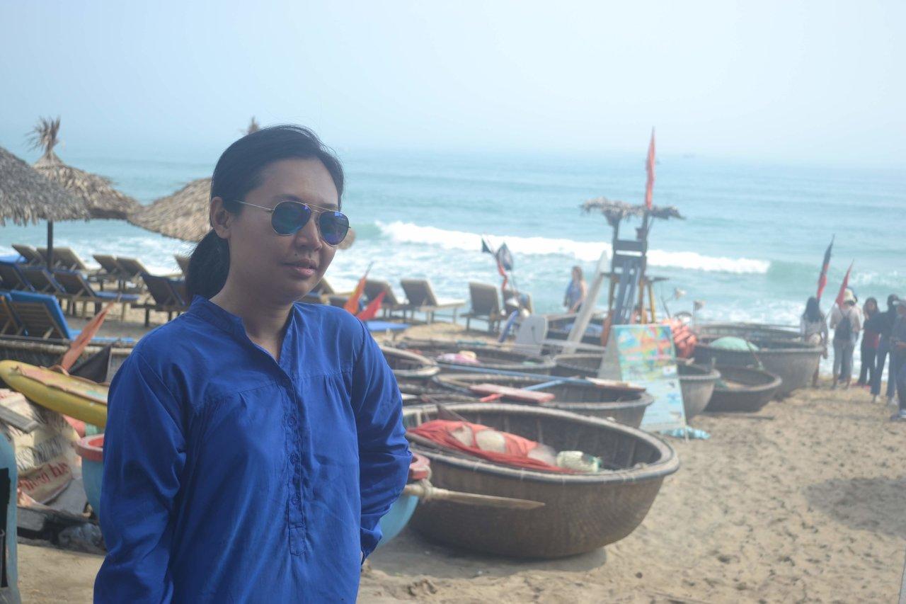 Beachy post  | Photo taken by Seng Aung S