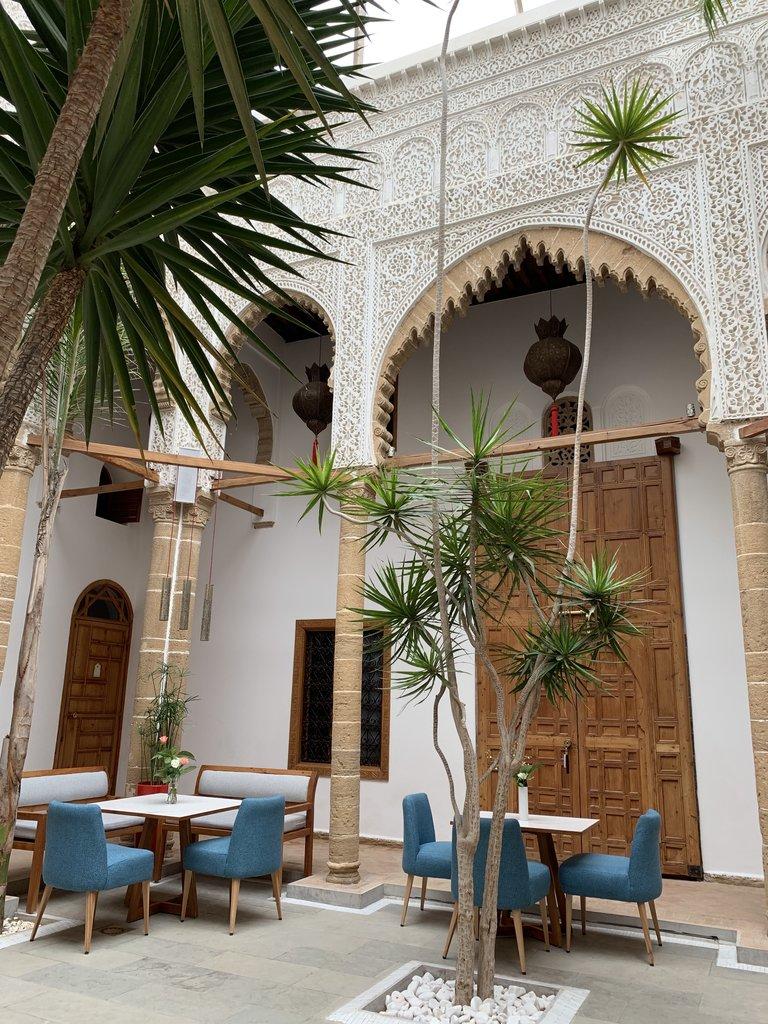 The beautiful Riad Kalaa.   Photo taken by Eileen S