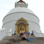 Pokhara Shanti Stupa | Photo taken by Ana Ruiz