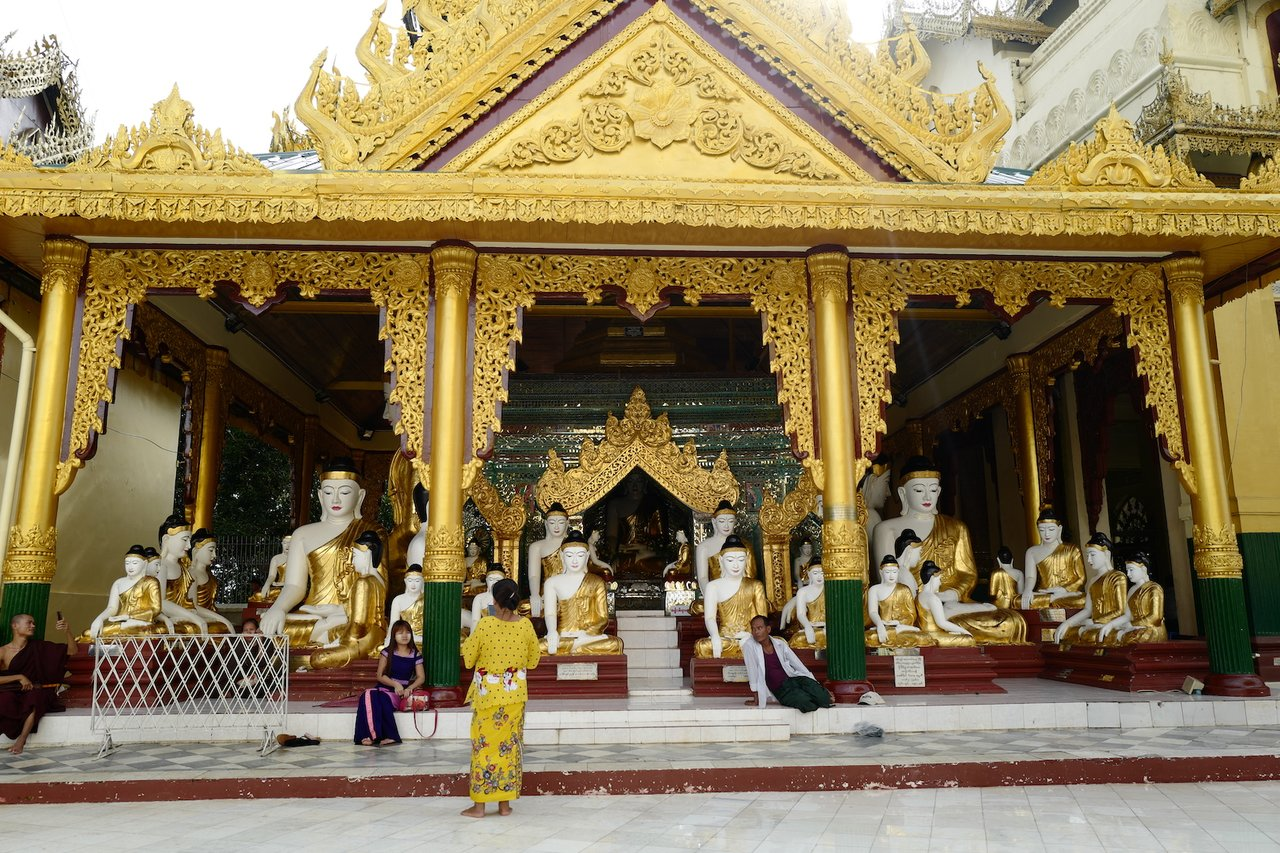 Shwedagon Pagoda | Photo taken by Su-Lin T