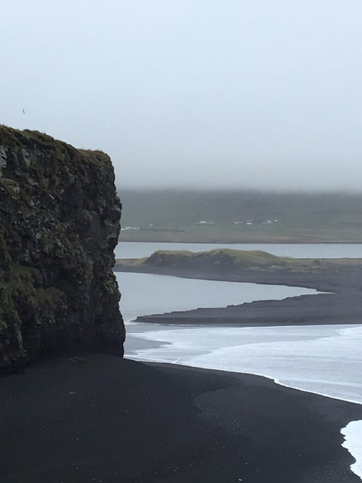 Black Beach | Photo taken by T H