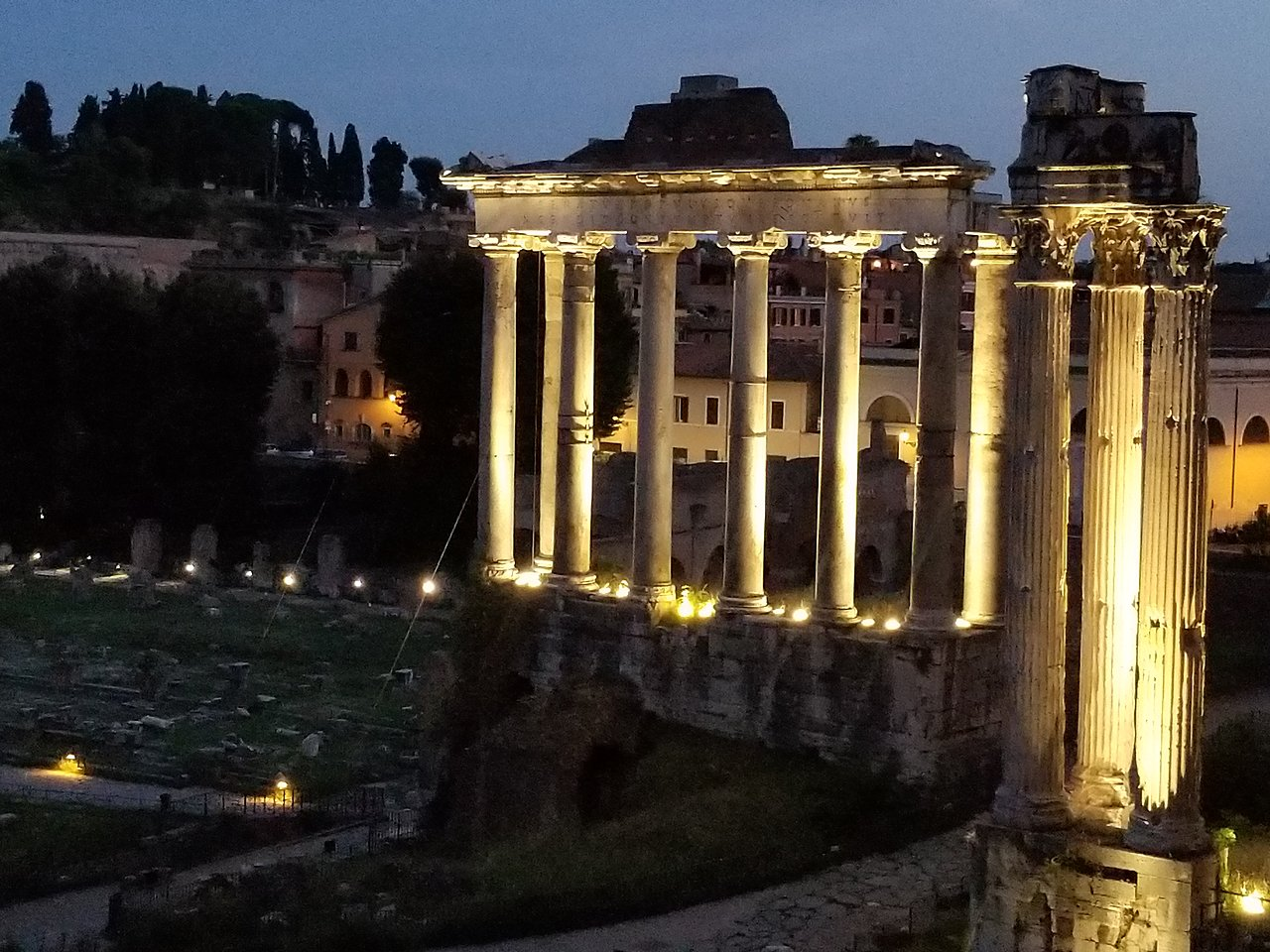 Roman forum  | Photo taken by lilia s
