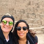 Huaca pucllana  | Photo taken by Danica P
