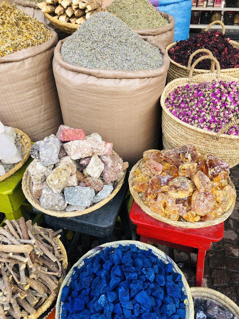 Spice in the souks   Photo taken by Filipinas C