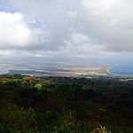View of Ometepe Island from Maderas volcano | Photo taken by Hugh B