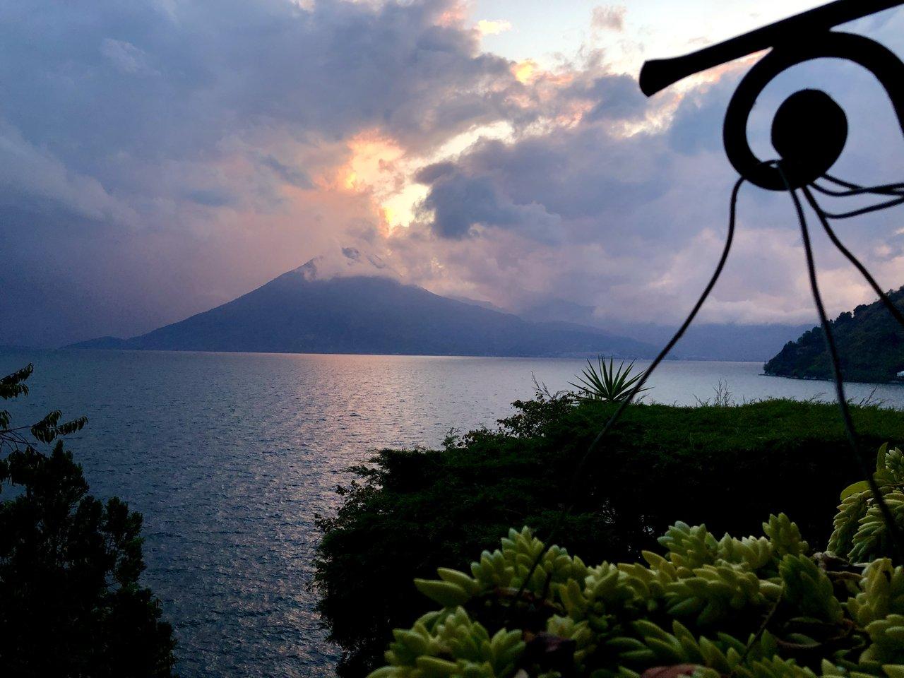Lake Atitlan sunset | Photo taken by BRAD K
