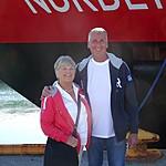 Our Hurtigruten ship | Photo taken by Richard T