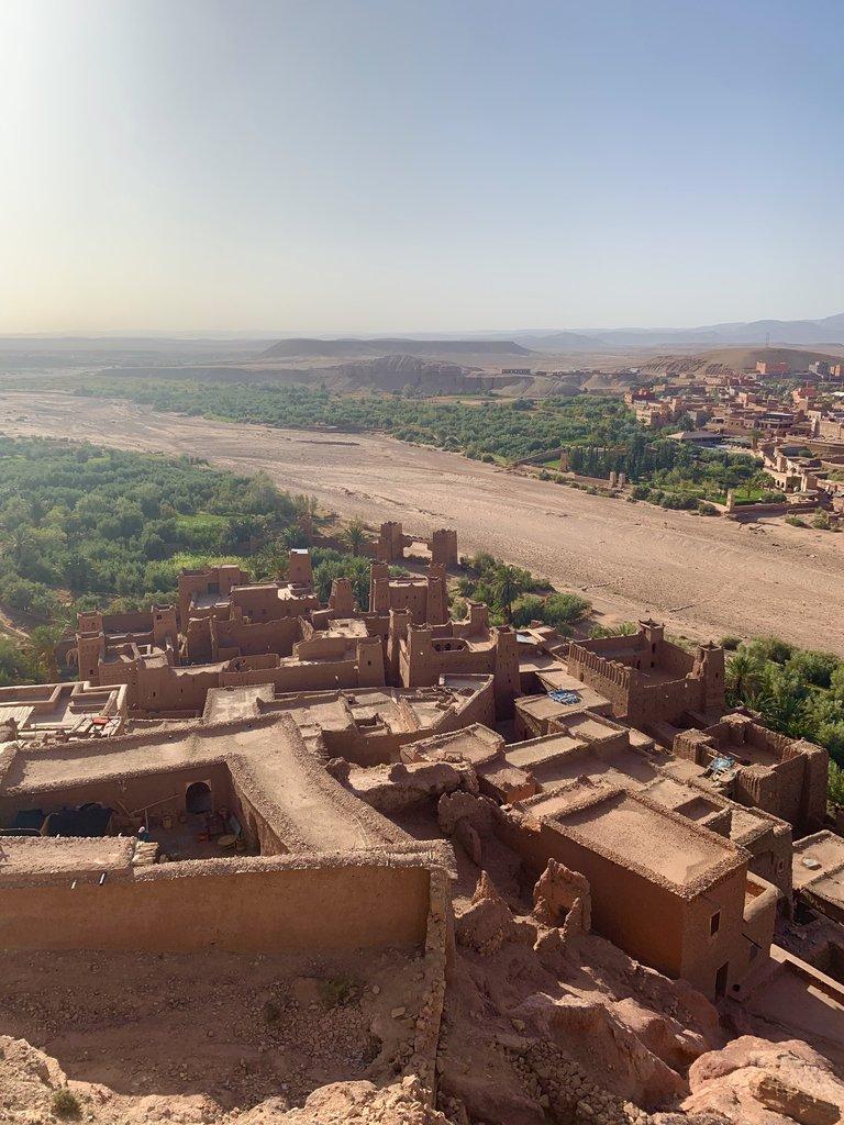 Aït Benhaddou. Ancient kasbahs in a fortress village | Photo taken by Rod K